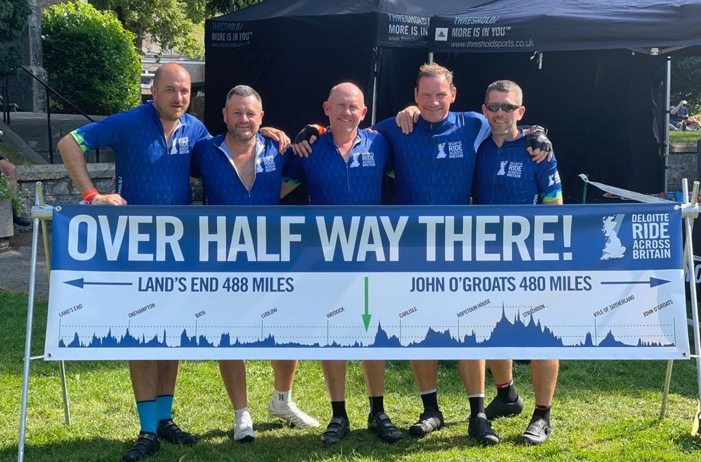 Lee's Journey – Lands End to John O'Groats for Kids Out
